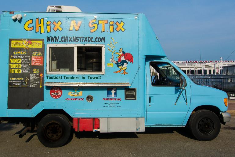 Food Truck at HPP: Chix N Stix